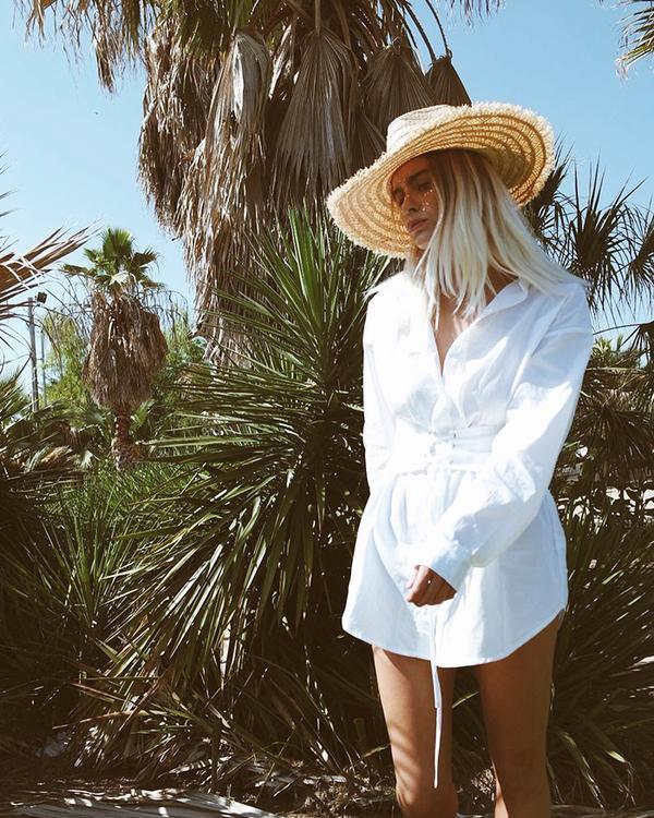 Tunic + Sun Hat