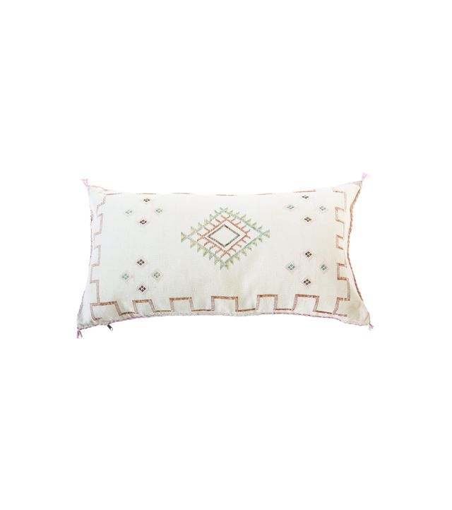 Tigmi Trading Oliver James Cactus Silk Cushion