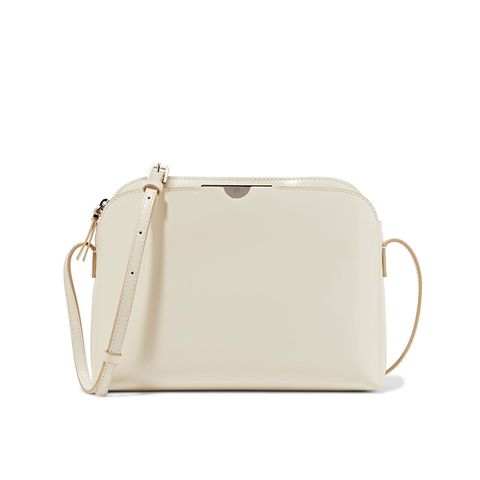 Multi Pouch Leather Shoulder Bag