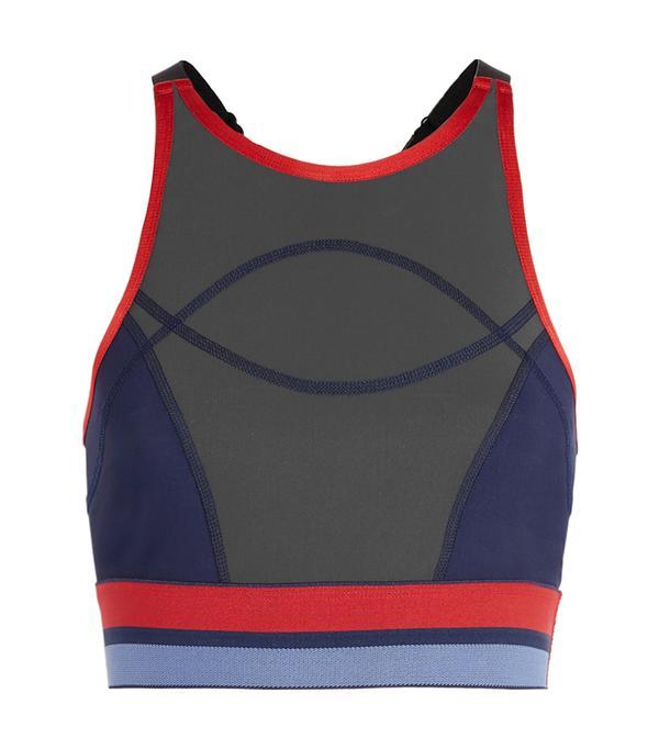 high neck bralette outfit -  LNDR Court Sports Bra