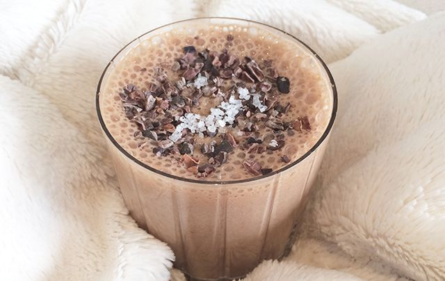healthy smoothie-chocolate smoothie recipe