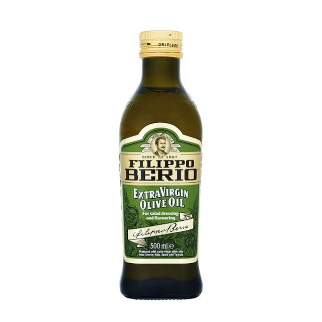 Homemade body scrub: Filippo Berio Extra Virgin Olive Oil