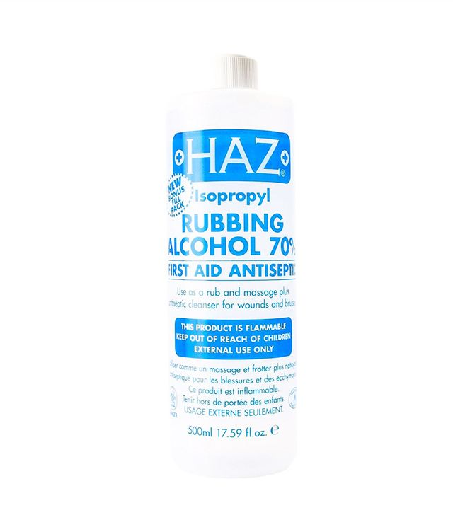 how to prevent blisters: Haz Rubbing Alcohol