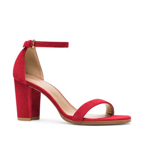 NearlyNude Block Heel Sandals