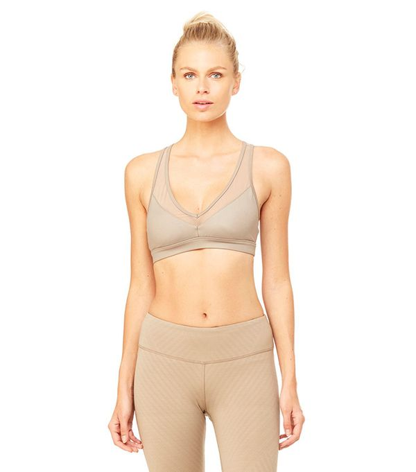 best sports bra for summer alo entice