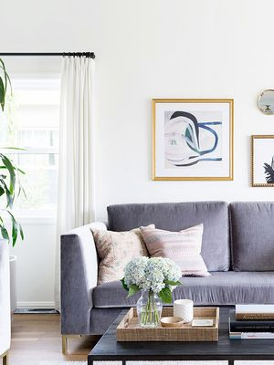 Traditional Meets Coastal Cool in This Designer's Home