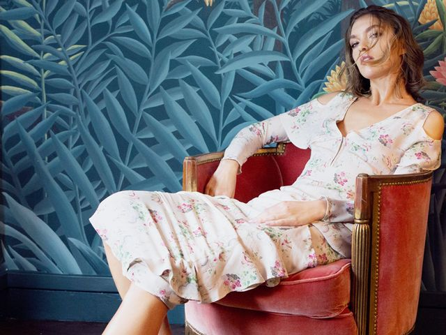 Aquazzura Shoe Collaboration de Gournay