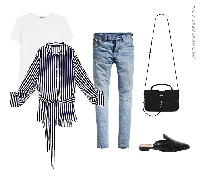 Basic Wardrobe Essentials Who What Wear