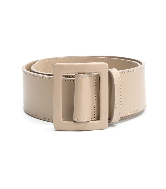 capsule wardrobe - Egrey Leather Belt