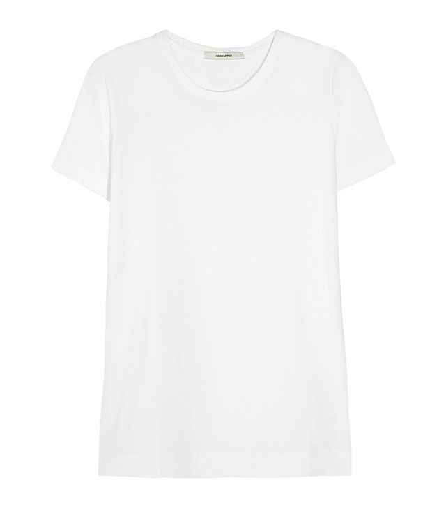 capsule wardrobe - Adam Lippes Pima Cotton T-Shirt