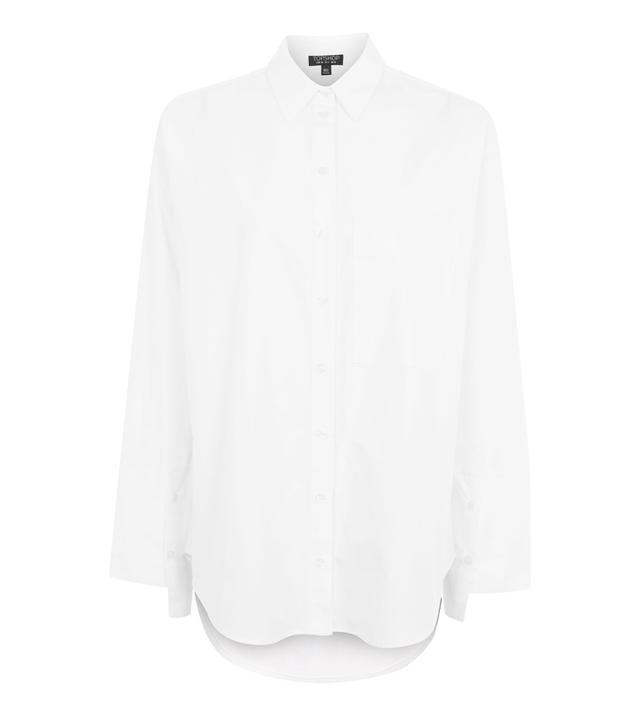 Topshop Giant Cuff Mensy Shirt