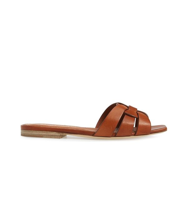 Saint Laurent Tribute Slide Sandal