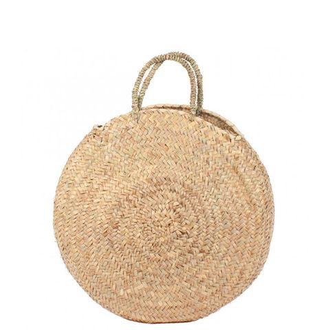 Round Large Wicker Basket