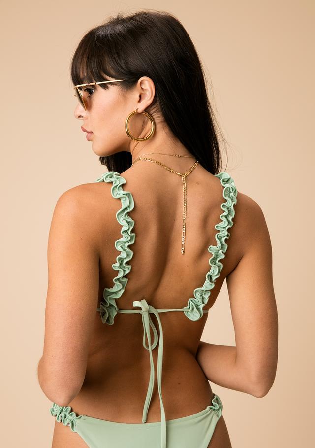 The Line by K Lola Ruffle Bikini