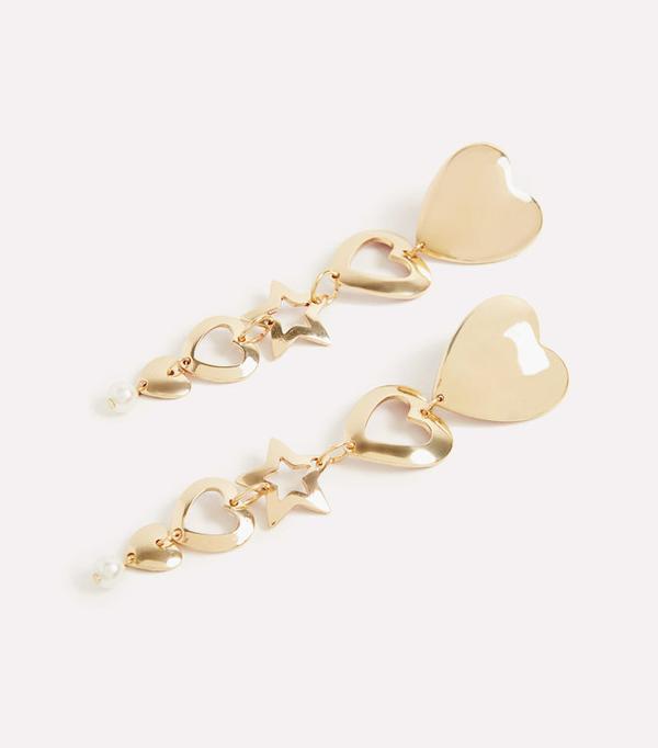 Best statement earrings: Uterque earrings