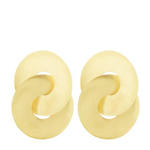 Pari Brass Earrings