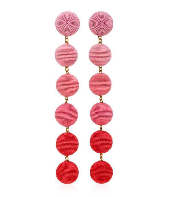 Best statement earrings: Rebecca de Ravenel earrings