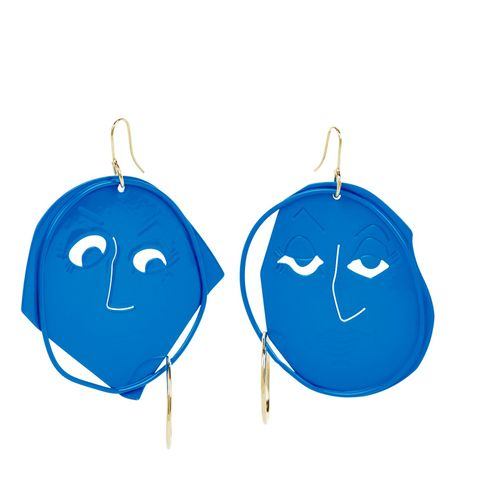 Moon Face Earring Exclusive