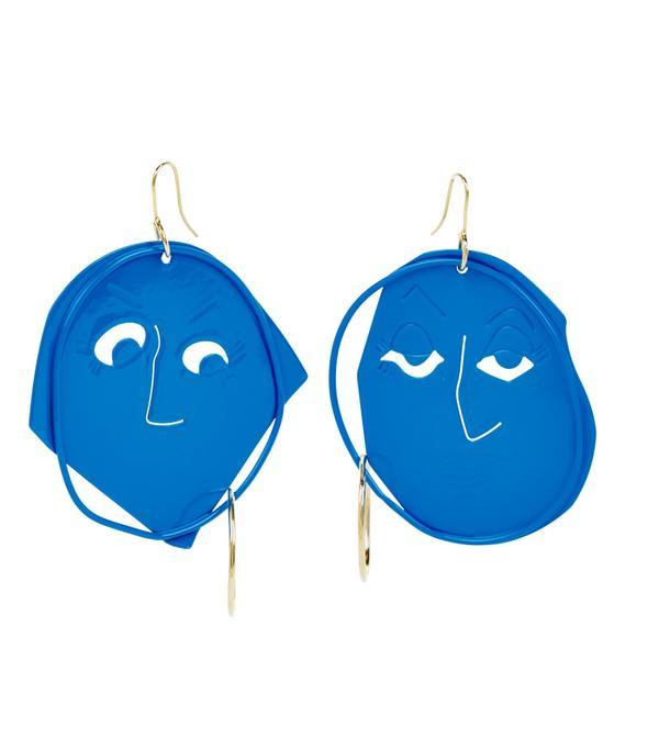 Best statement earrings: J W Anderson earrings