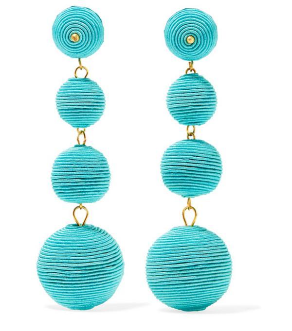Best statement earrings: Kenneth Jay Lane