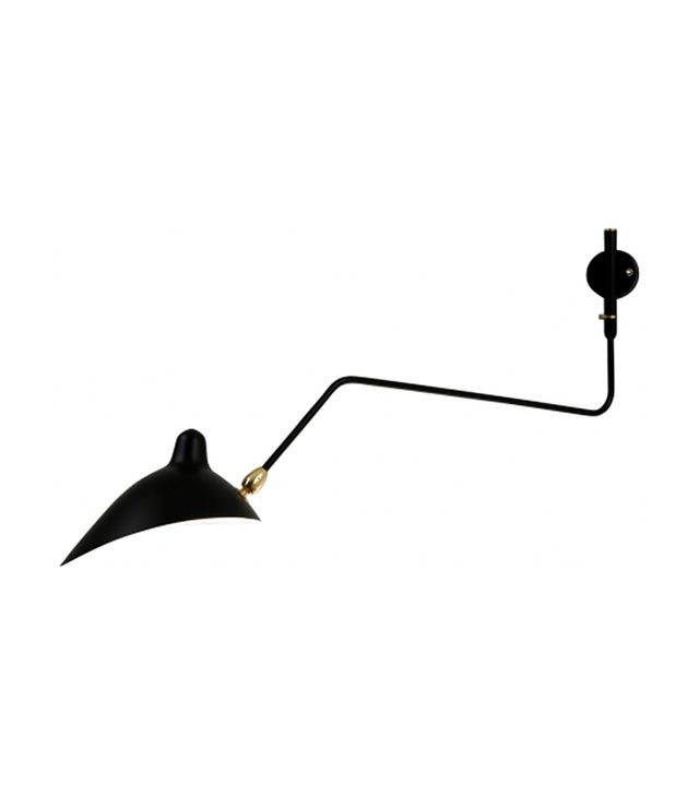 Serge Mouille 1-Arm Rotating Sconce