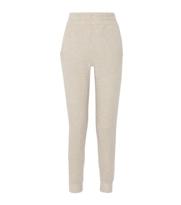 athleisure trend - The Elder Statesman Cashmere Track Pants