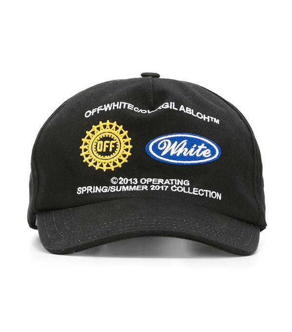 cool baseball hats - Off White Work Cap