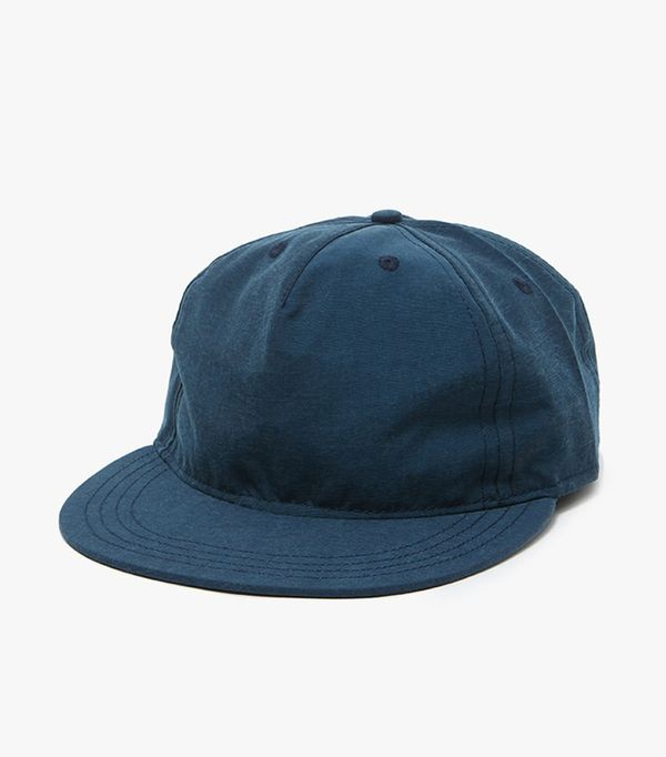 cool baseball hats - Paa Pleat Cap in Navy Teal