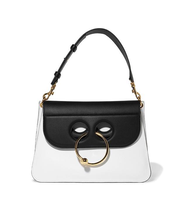 dc fashion - J.W. Anderson Pierce Medium Two-Tone Leather Shoulder Bag