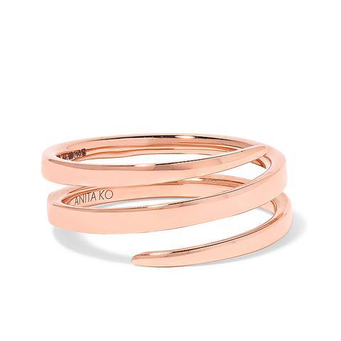 Coil 18-Karat Rose Gold Ring
