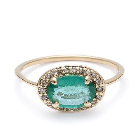 Pavé Amulet Ring