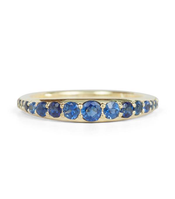non diamond engagement rings - ILA Bali Sapphire Ring