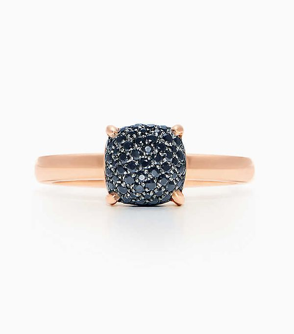 non diamond engagement rings - Tiffany & Co. Paloma's Sugar Stacks