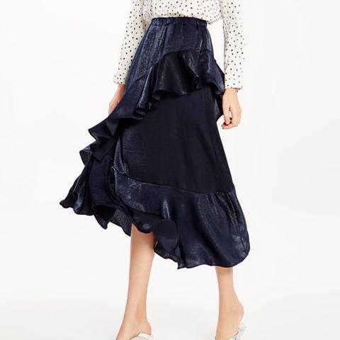 Tatiana Ruffle Maxi Skirt