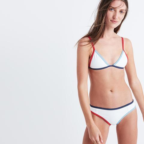 Jett Colorblock Bikini Top
