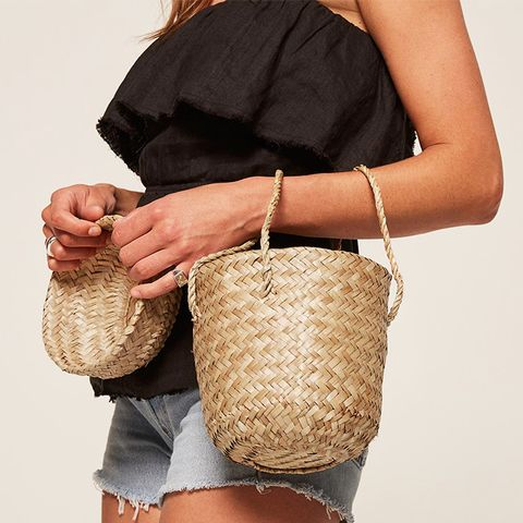 Phoebe Moroccan Basket Bag