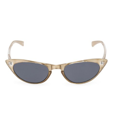 Peggy Champagne Gold Pearl Sunglasses