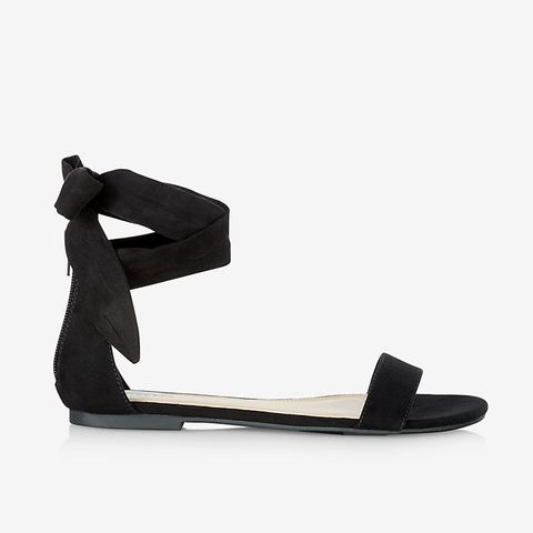 Side Tie Sandal