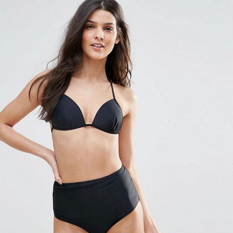 Molded Triangle Bikini Top