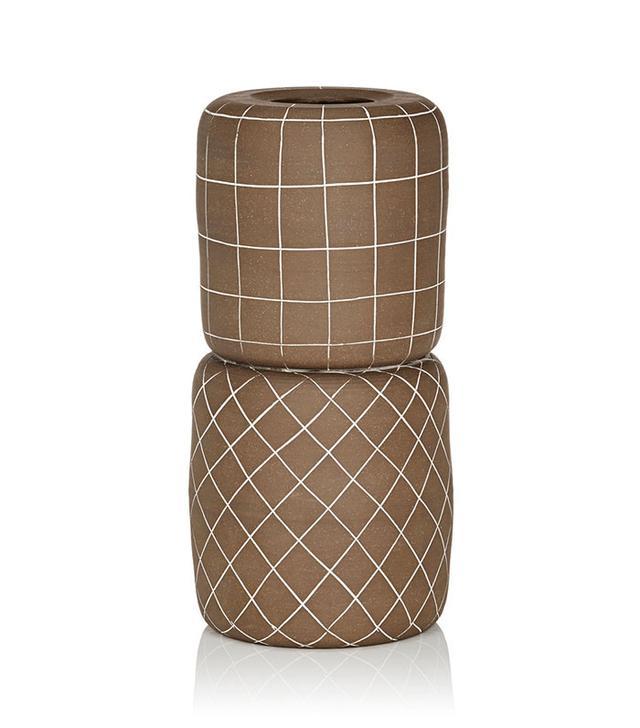Workaday Stacked Vase