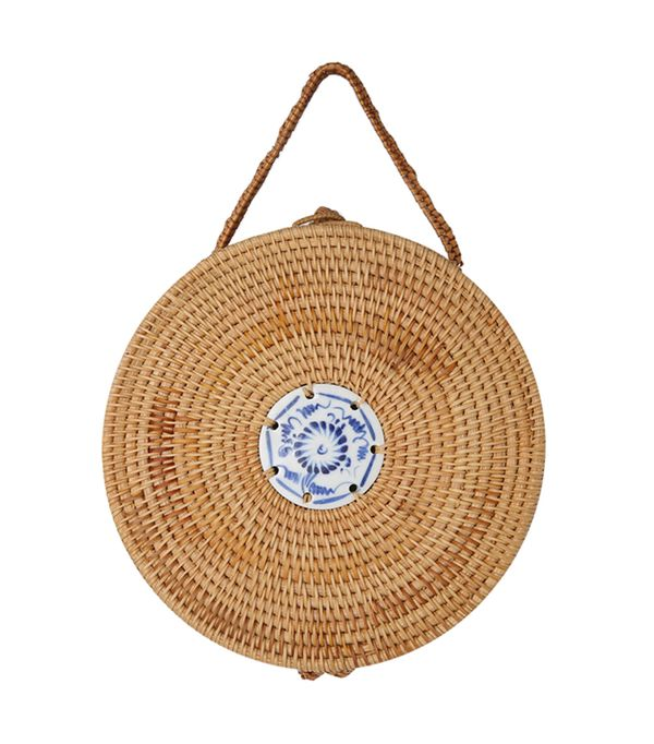 Stylenanda Structured Round Woven Bag