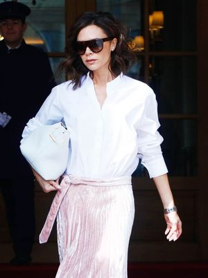 Victoria Beckham Just Pulled a Styling Move We Haven't Thought of Before
