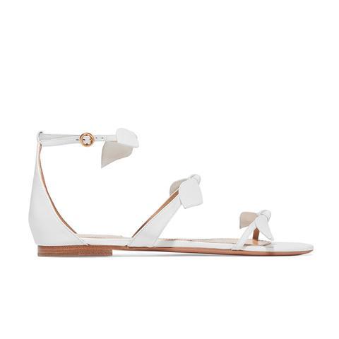 Bow-Embellished Sandals