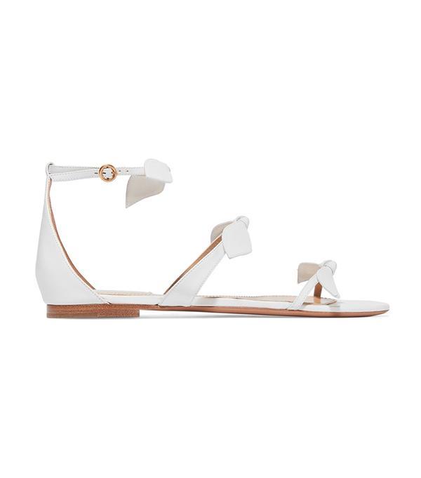 wedding trends -  Chloé Bow-Embellished Sandals