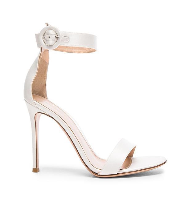 wedding trends - Gianvito Rossi  Satin Portofino Heels