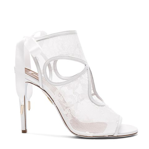 Lace Sexy Thing Bridal Heels