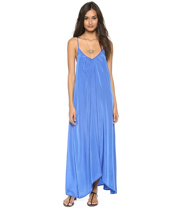 Cute swimsuit cover ups - ONE by Pink Stitch Resort Maxi Dress
