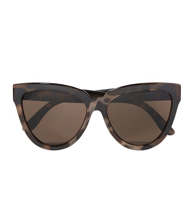 best cat eye sunglasses -  Le Specs Liar Lair Sunglasses