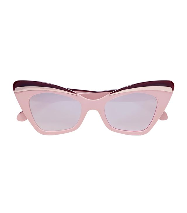 best cat eye sunglasses -  Karen Walker Babou Sunglasses