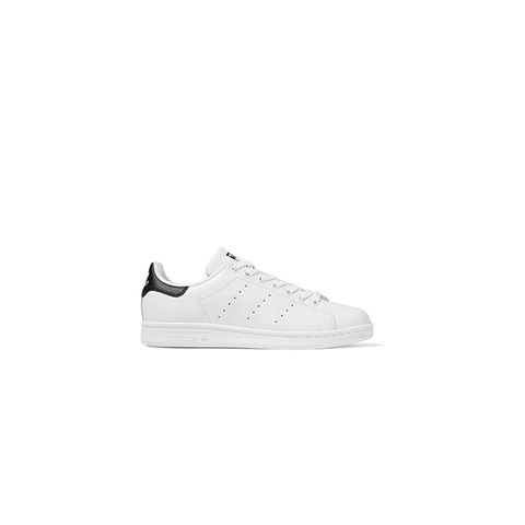 Stan Smith Leather-Trimmed Suede Sneakers